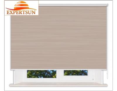 Рулонные шторы Люкс. Балтик коричневый