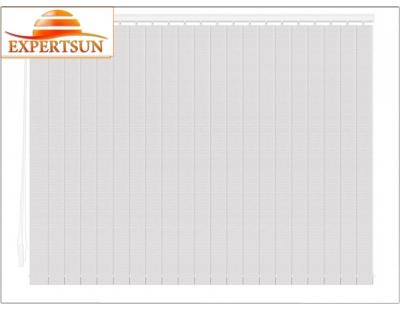 Вертикальные тканевые жалюзи. Аруба белый 100316-0225
