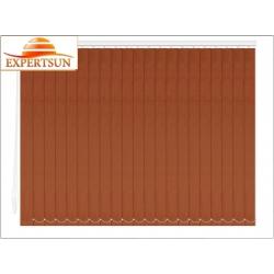 Вертикальные тканевые жалюзи. Замша коричневый 100511-2870