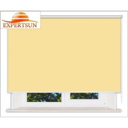 Рулонные шторы Люкс. Мадагаскар желтый