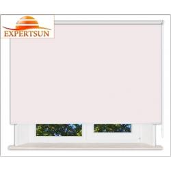 Рулонные шторы Люкс. Мадагаскар розовый