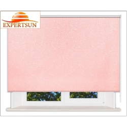 Рулонные шторы Стандарт. Шелк розовый