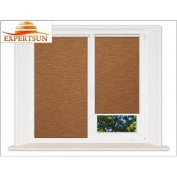 Миникассетные рулонные шторы Мини. Аруба коричневый