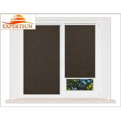Миникассетные рулонные шторы Мини. Аруба темно-коричневый