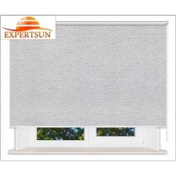Рулонные шторы Люкс. Ямайка серый