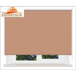 Рулонные шторы Стандарт. Металлик светло-коричневый
