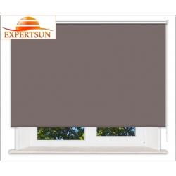 Рулонные шторы Стандарт. Металлик темно-коричневый