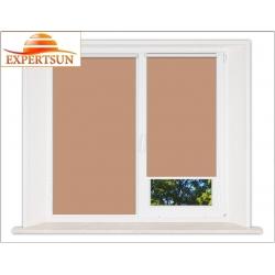 Миникассетные рулонные шторы Мини. Металлик светло-коричневый