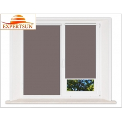 Миникассетные рулонные шторы Мини. Металлик темно-коричневый