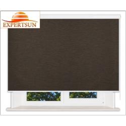 Рулонные шторы В-27. Аруба темно-коричневый