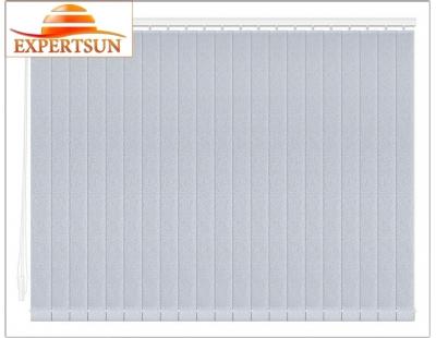 Вертикальные тканевые жалюзи. Аврора голубой 100112-5173