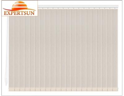 Вертикальные тканевые жалюзи. Аврора персиковый 100112-4221