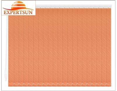 Вертикальные тканевые жалюзи. Бали апельсин 100307-4290