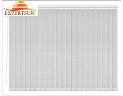 Вертикальные тканевые жалюзи. Бали серебро 100307-7013
