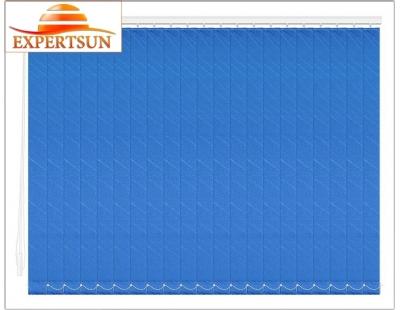 Вертикальные тканевые жалюзи. Бали синий 100307-5302