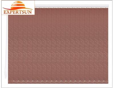 Вертикальные тканевые жалюзи. Бали шоколад 100307-2871