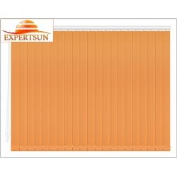 Вертикальные тканевые жалюзи. Диско оранжевый 100106-3499