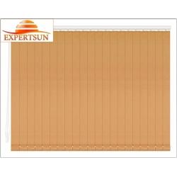 Вертикальные тканевые жалюзи. Замша св. коричневый 100511-2868