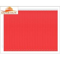 Вертикальные тканевые жалюзи. Лайн II красный 100100-4077