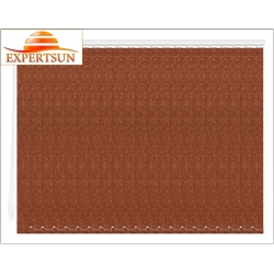 Вертикальные тканевые жалюзи. Шёлк коричневый 101901-2871