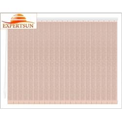 Вертикальные тканевые жалюзи. Шёлк персиковый 101901-4240